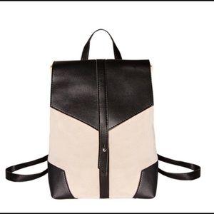 Deux Lux Bags - Deux Lux Canvas & Vegan Leather Backpack NEW! (C)
